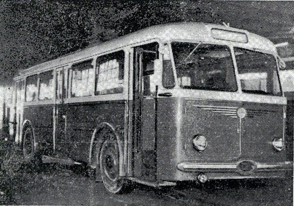 Trolejbus Skoda 8Tr, fot. Życie Warszawy, 2.02.1955