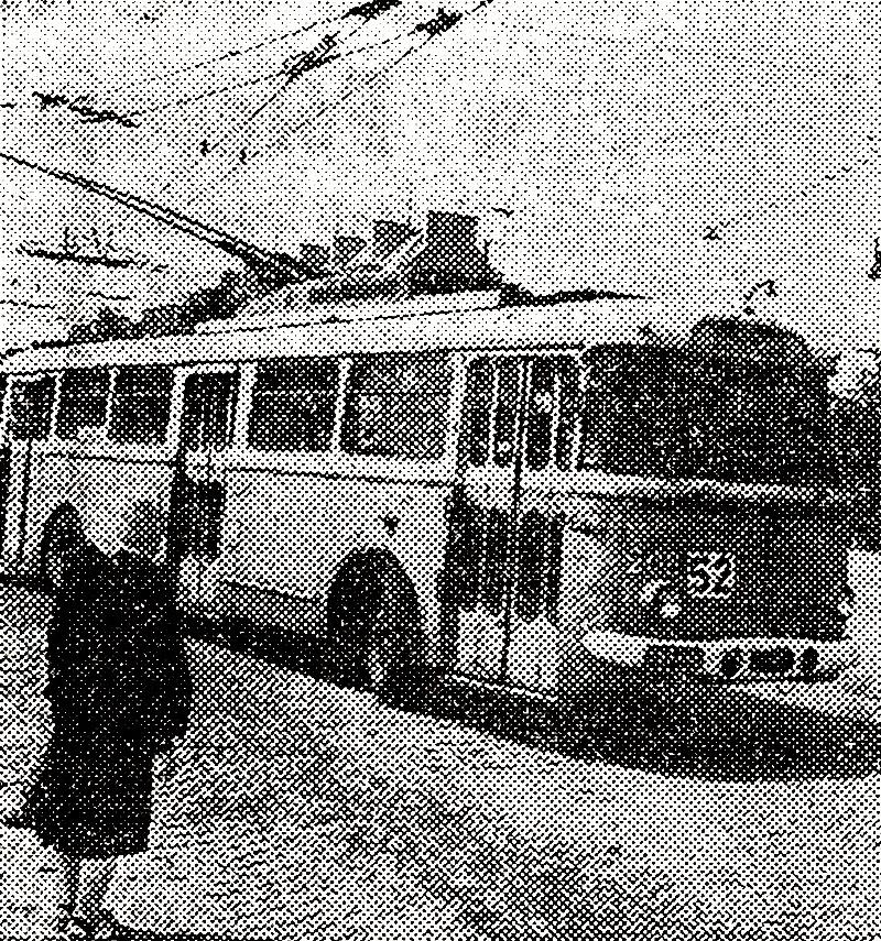 Trolejbus Skoda 9Tr, fot. Życie Warszawy, 1.07.1973