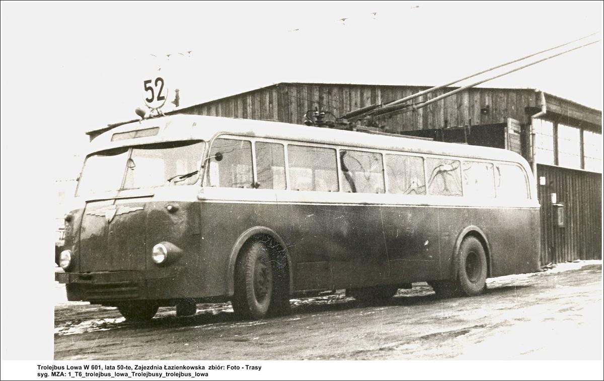 Trolejbus LOWA, fot. Trasy