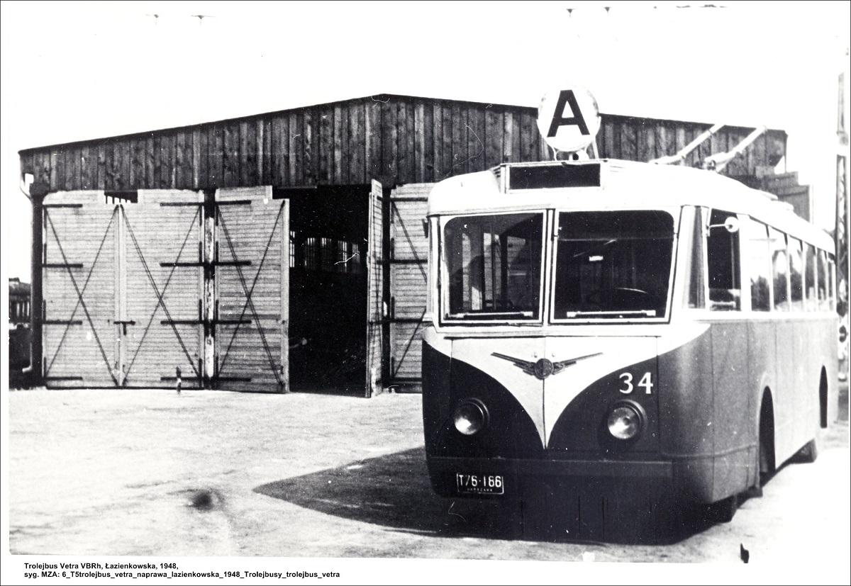 Trolejbus Vetra, fot. archiwum MZA