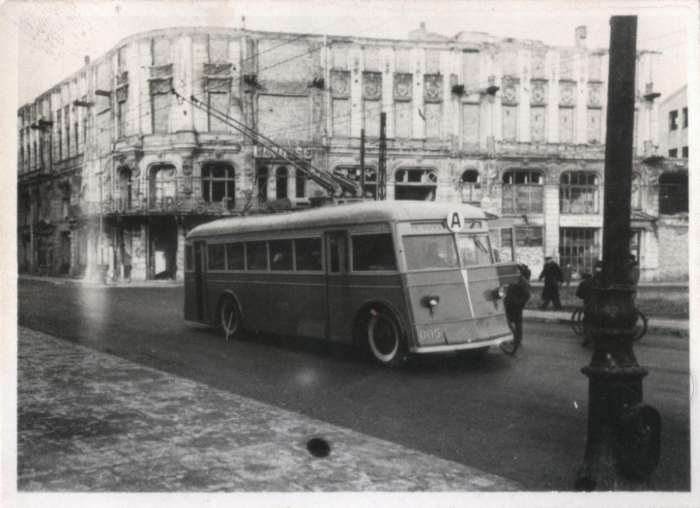 Trolejbus JaTB-2, fot. archiwum ZTM