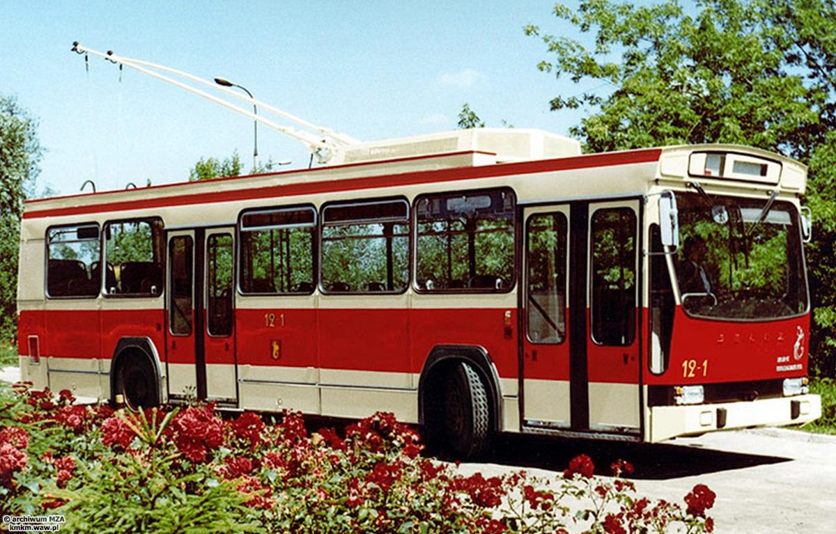 Prototypowy trolejbus Jelcz ER100, fot. archiwum MZA
