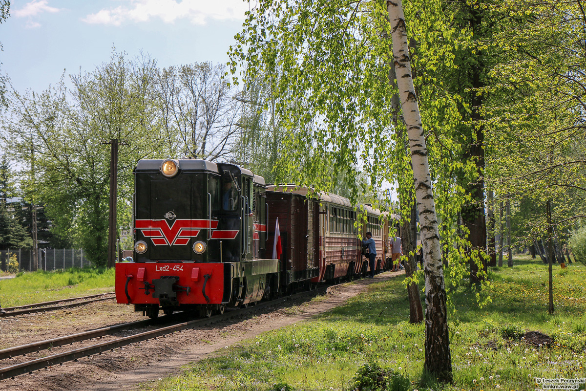 lokomotywa Lxd2-454