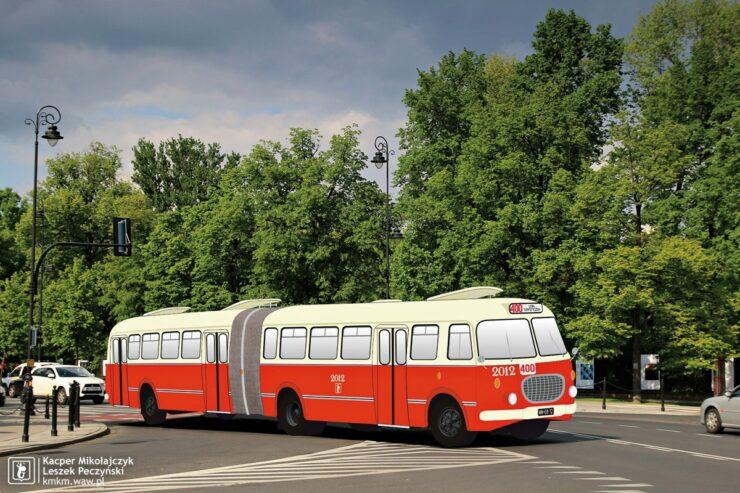 wizualizacja gotowego autobusu
